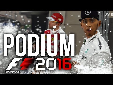 F1 2016 CAREER MODE PART 3 - PODIUM ??? - Round 2 (F1 2016 G