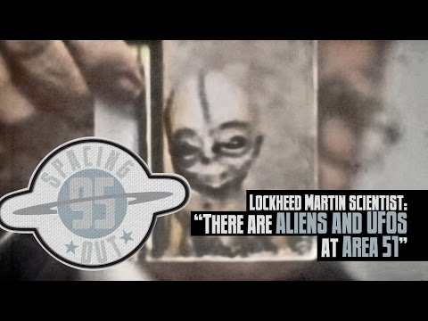 Lockheed Martin scientist: 'There are ALIENS and UFOs at Area 51' - Spacing Out! Ep. 95