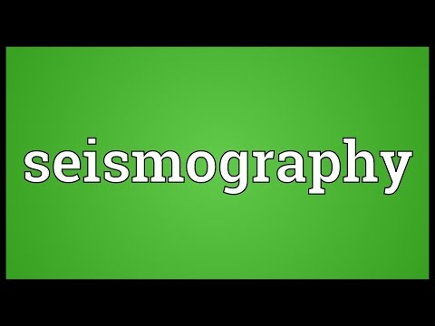 Header of seismography