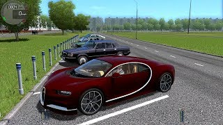 Bugatti Chiron 400 km/h! City Car Driving 1.5.5