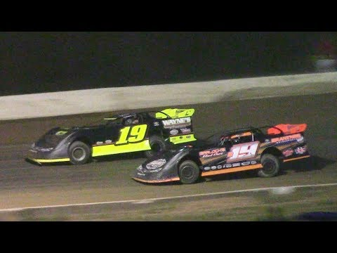 ULMS Super Late Model Heat Four | Hesston Speedway | 7-1-17