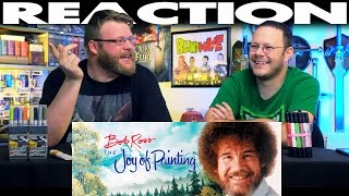 Bob Ross Remixed Happy Little Clouds REACTION!!