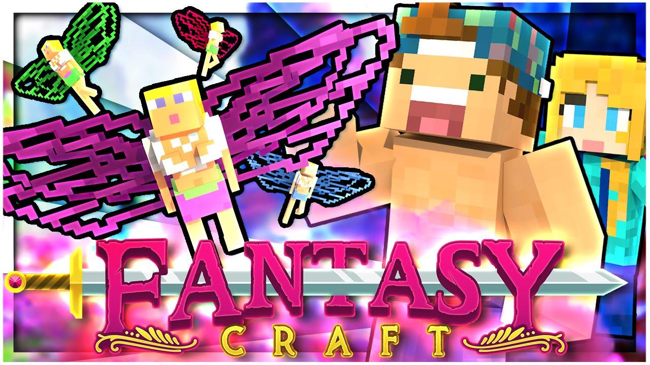 Omg Fairies Everywhere Ep 1 Fantasycraft Minecraft