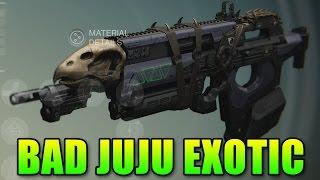 Destiny Bad Juju Exotic Pulse Rifle | Toland