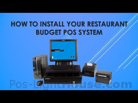 How to Install - Restaurant Budget POS System