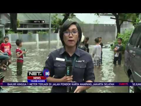 Live Report - Kondisi Banjir Wilayah Mampang Jakarta - NET16 Mp3