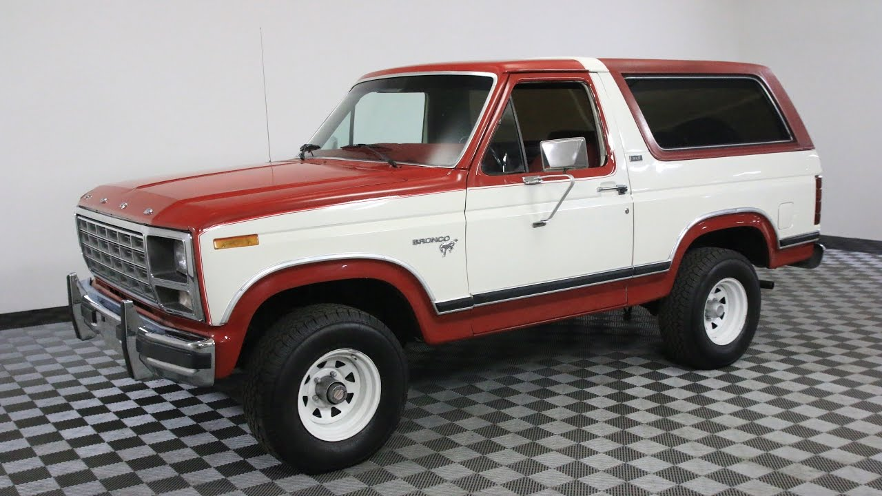 1980 ford bronco red white youtube rh youtube com 1980 ford bronco ranger 1980 ford bronco ranger