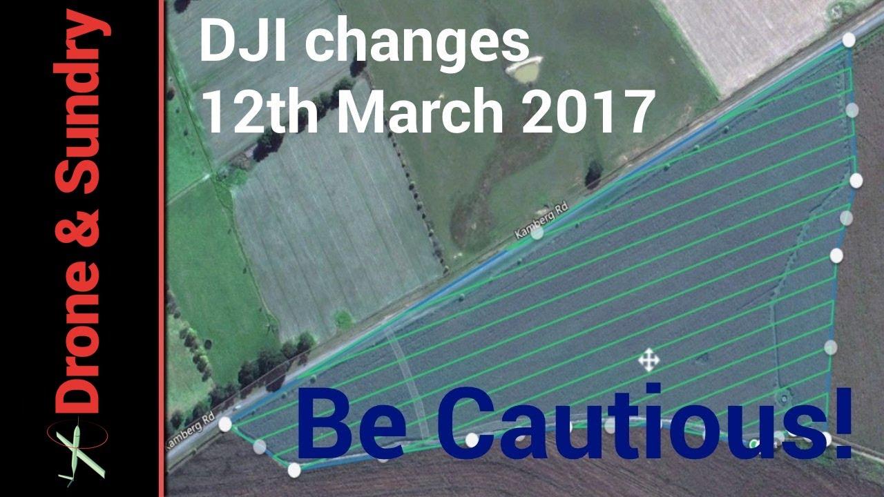 DJI App updates causing Phantom Problems PIX4D to the rescue