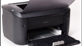 видео Обзор черно-белого лазерного принтера Canon i-SENSYS LBP6030