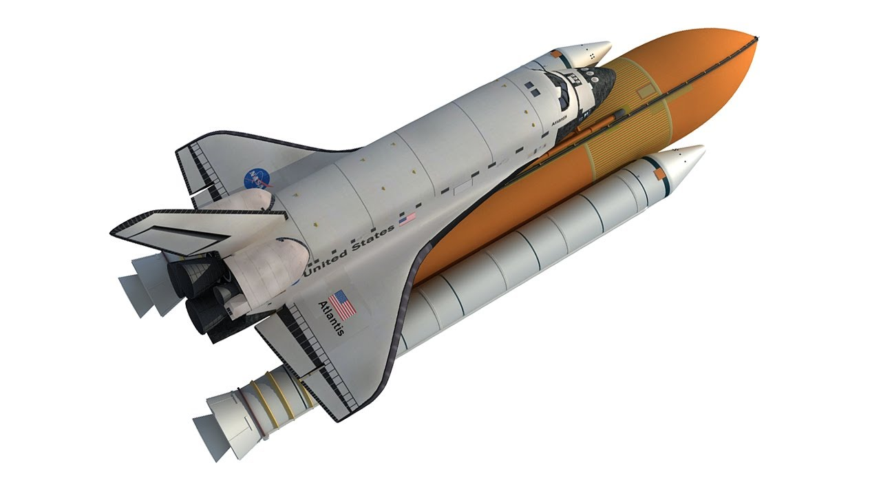 NASA 3D Models - Space Shuttle 3D Model