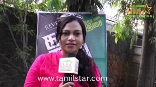 Anjali At Kamar Kattu Team Interview