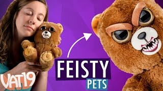 Feisty Pets: Sweet-to-Scary Stuffed Animals