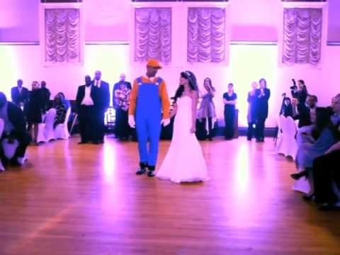 Best Wedding Dance Ever Super Mario Surprise