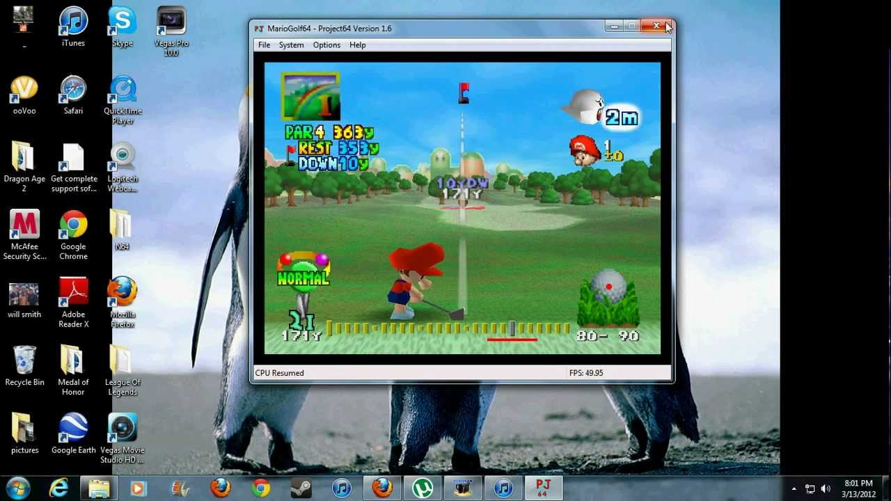 emulatore nintendo 64