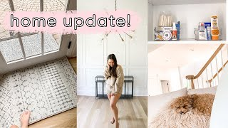 New rugs and organizing the laundry! | ELA BOBAK