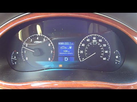 2013 Hyundai Genesis Sedan 0-60 Acceleration