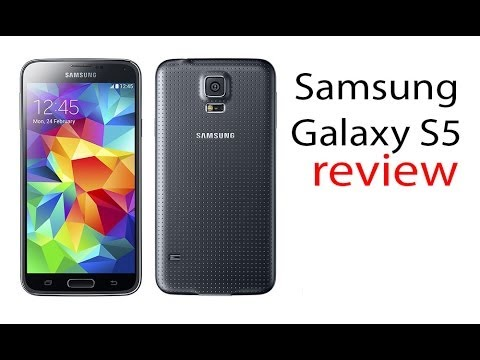 Samsung Galaxy S5 review - YouTube