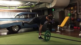Ben Bruno Teaches the Landmine Single Leg RDL