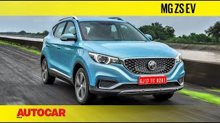 MG ZS EV India Review - Better than a Hyundai Kona? | Autocar India