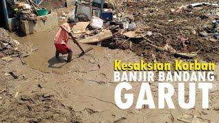 Kesaksian Korban Banjir Bandang Garut
