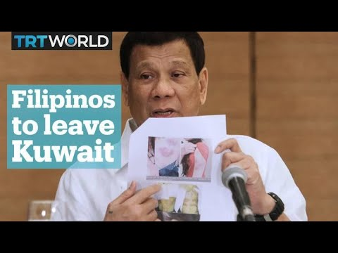 Duterte bans Filipinos from working in Kuwait