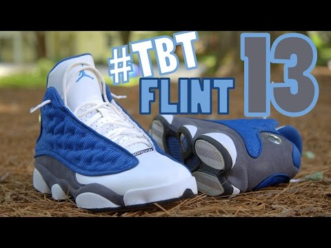 "#TBT 2010 Jordan 13 ""Flint"" w/ On Foot"