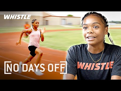 13-Year-Old FASTEST Track Star | Future Olympic Gold Medalist?