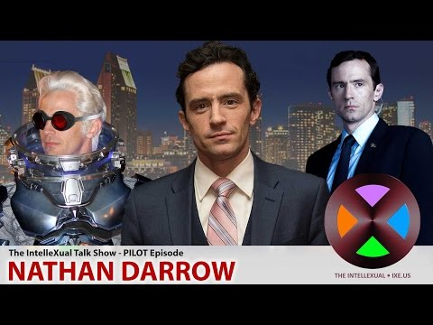 The IntelleXual Talk Show: Pilot Episode with Nathan Darrow