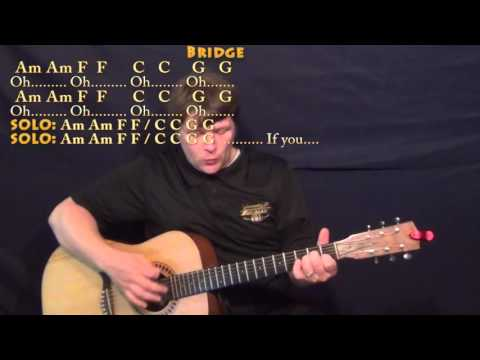 All I Want (Kodaline) Strum Guitar Cover Lesson with Chords/Lyrics
