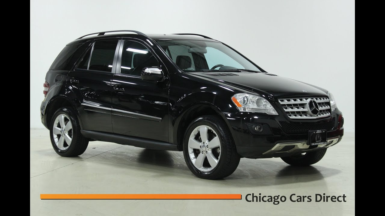 Chicago Cars Direct Reviews Presents a 2009 Mercedes Benz ML350