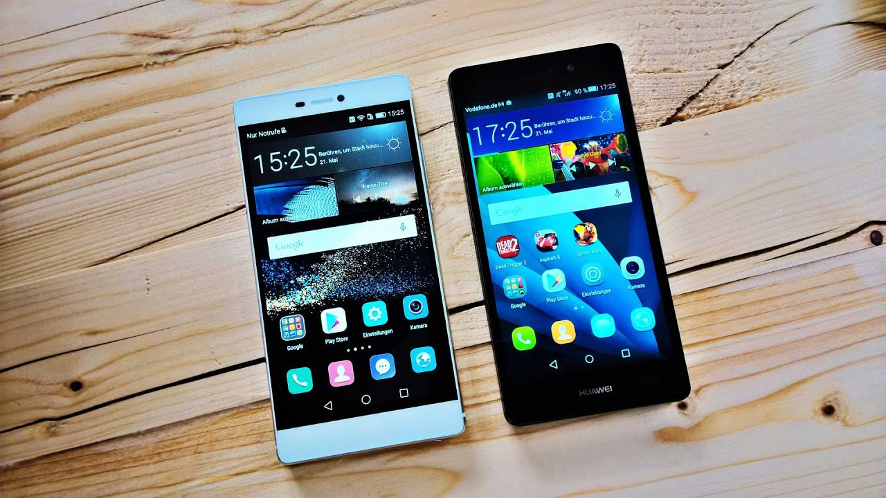 benchmark huawei p8 vs huawei p8 lite youtube. Black Bedroom Furniture Sets. Home Design Ideas