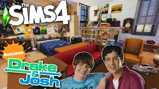 The Sims 4 Drake and Josh Stop Motion Build