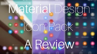 Material Design Icon Pack For Windows 7/8/8.1/10.