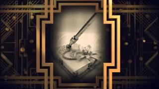 Свадебная ручка с подставкой Gilliann Silver PEN005