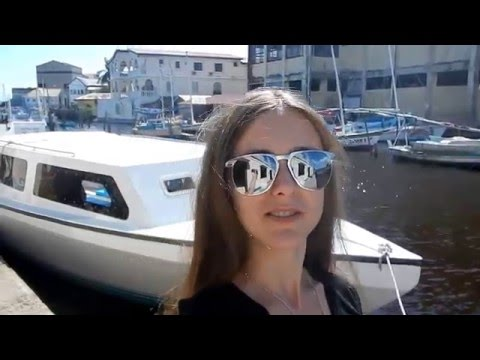 Белиз. Belize city travel video guide.