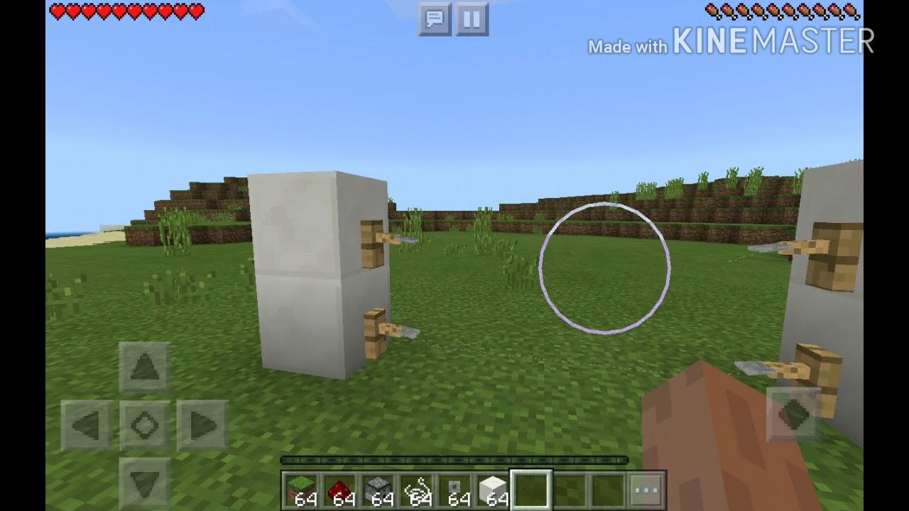 Como Hacer Una Cerca Electrica O Cerca De Daño En Minecraft Pe Facil Y Rapido By
