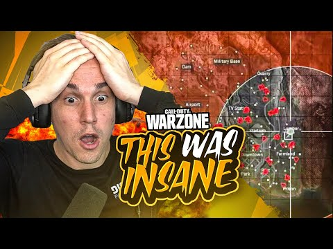 CRAZIEST GAME OF WARZONE I'VE EVER PLAYED!! INSANE 35 SOLO KILLS! (Warzone)