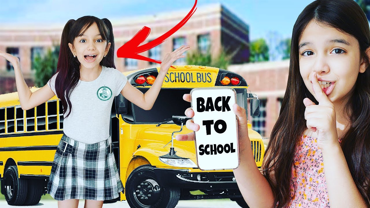 Back To School PRANK on my Sister! | Emily and Evelyn
