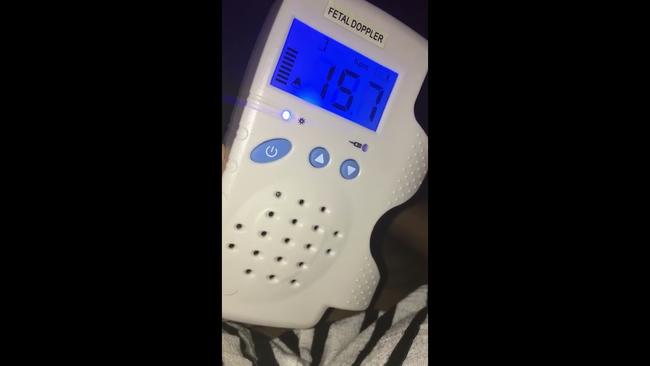 Finding Baby S Heartbeat On Fetal Doppler At 10 Weeks Youtube