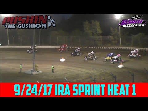 LaSalle Speedway - 9/24/17 - IRA Sprints - Heat 1