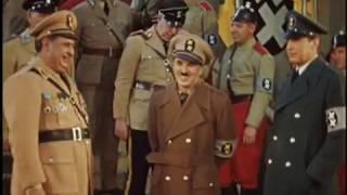 Bonus   Великий Диктатор в цвете съемки Сиднея Чаплина