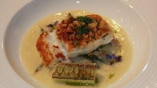Michelin Star Chef Dominic Chapman Creates Cod With Oyster Recipe