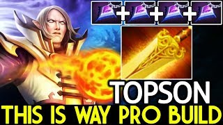 TOPSON [Invoker] Radiance For Invo This is way Pro Build 7.21 Dota 2