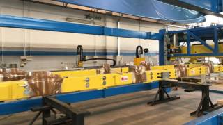 NEW transfer T7000 stress test with 400 extra kg (7000mm press table)