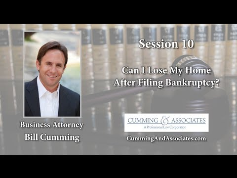 Keep Your Home When Filing For Bankruptcy | Cumming & Associates