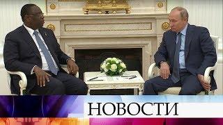 Владимир Путин лично поздравил президента Сенегала с победой сборной страны над командой Польши.