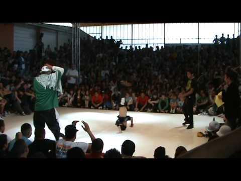 Kaku VS Lil G @ Trickonometry World / Le Mans World Battle II (May-30-2009)
