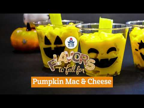 D.I.Y Easy Quick & 'Ono Pumpkin Mac & Cheese Cups