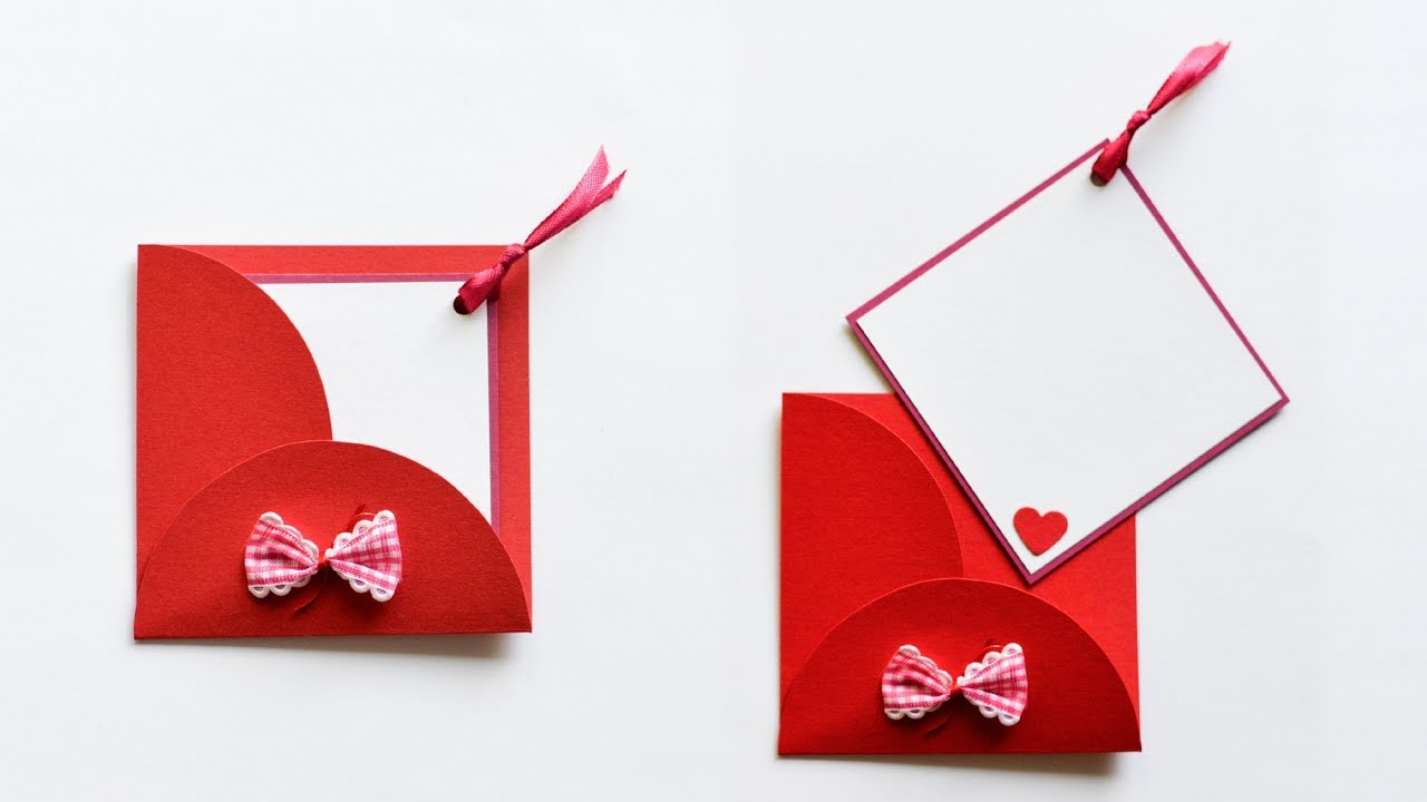 How To Make Greeting Card With Envelope