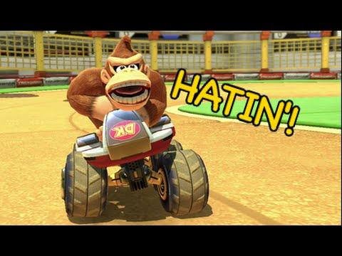 THIS B#TCH HATIN' AGAIN! [MARIO KART 8]